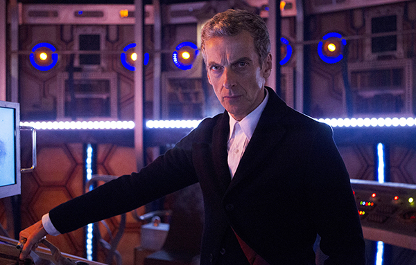 Doctor Who (Peter Capaldi) in Tardis