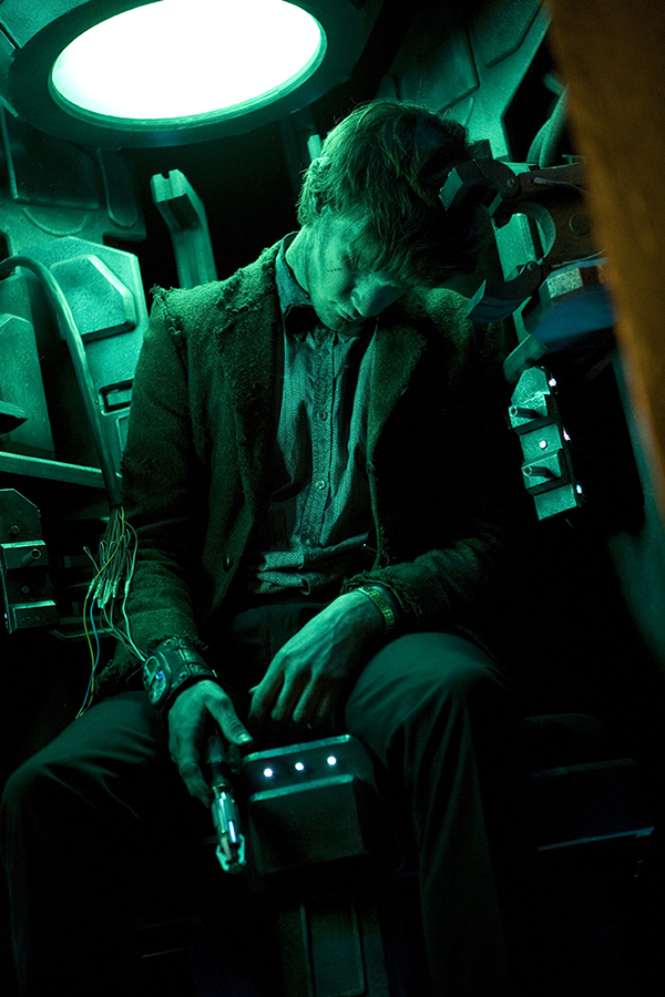 The Doctor (Matt Smith) inside Pandora's box