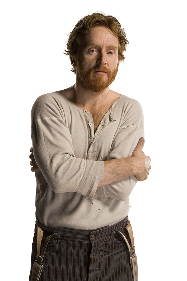 Vincent (Tony Curran) photographed on white background