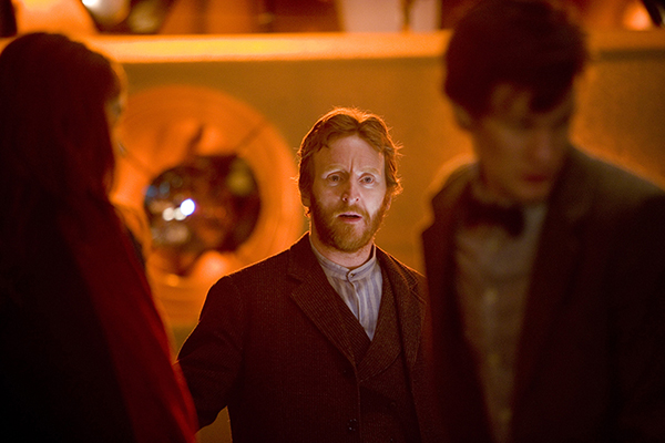 Vincent (Tony Curran) in Tardis