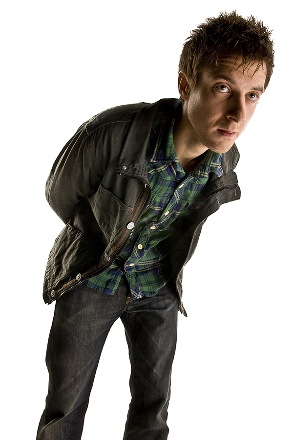 specials photograph of Arthur Darvill on white background
