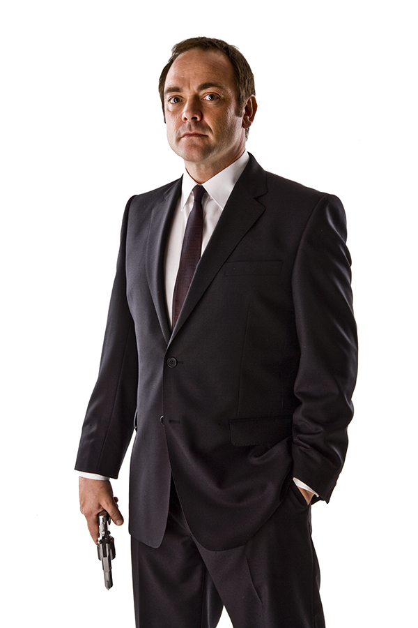 photo of Mark Sheppard as Canton Delaware from the Doctor Who episode The Impossible Astronaut