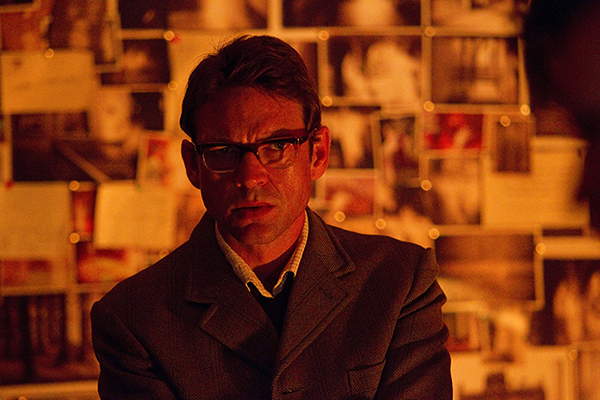 film still of Dougray Scott as Alec Palmer from the Doctor Who episode Hide