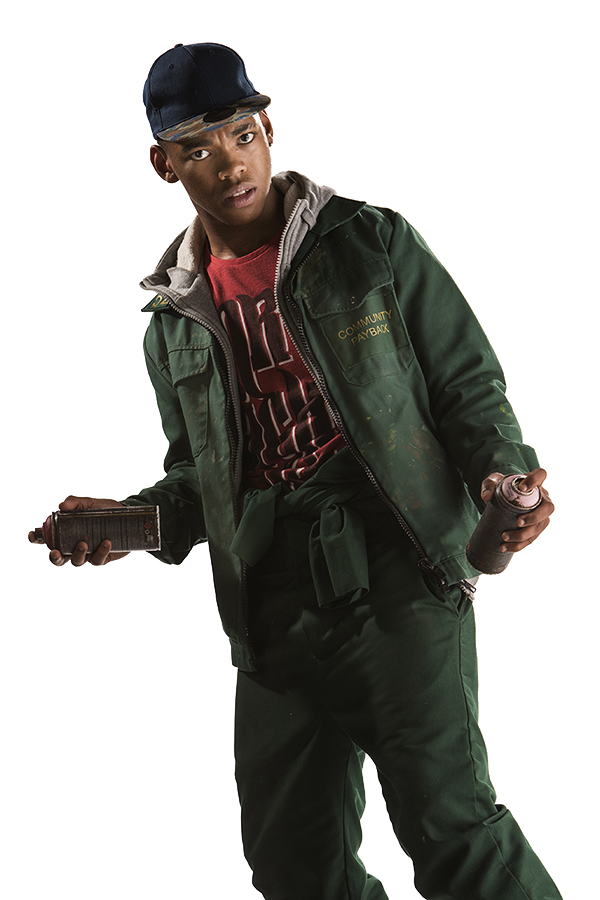 specials photograph of Joivan Wade as Rigsy from the Doctor Who episode Flatline