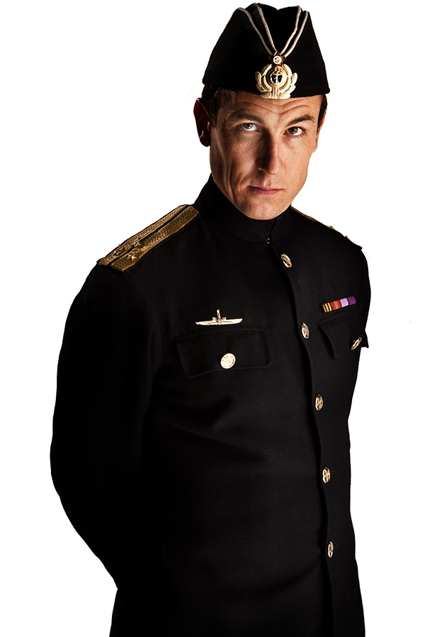 specials photo of Tobias Menzies as Lieutenant Stepashin from the Doctor Who episode Cold War